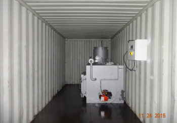 Containerized Mobile Incinerators